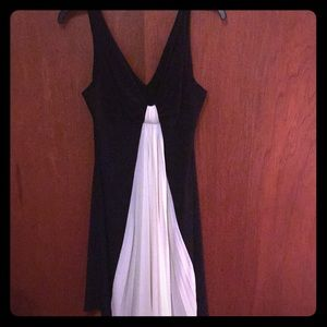 As U Wish Black & White Evening Dress! Size M